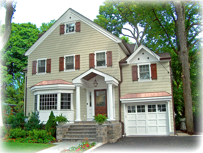 Copper Roofs By Craftsman Metal For New Construction