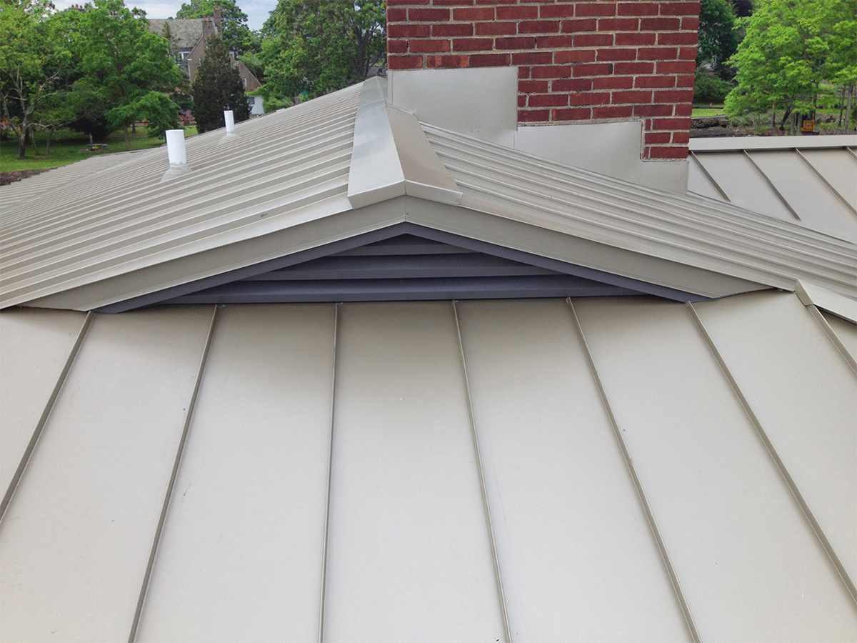 Architectural Metal Roofs By Craftsman Metal For New