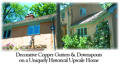 Architectural Roofing Contractor Specialist In Copper Tin